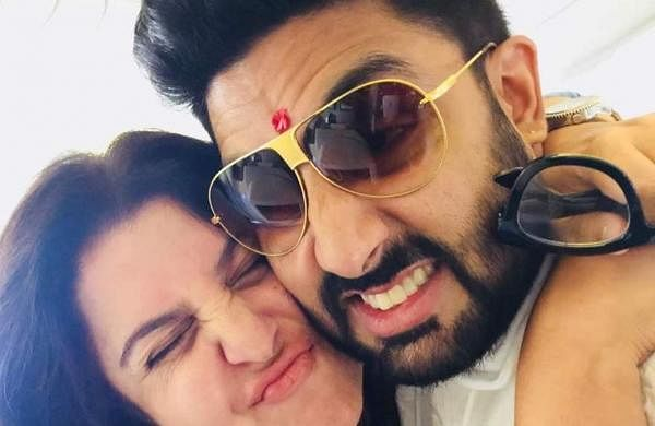 Farah Khan and Abhishek Bachchan