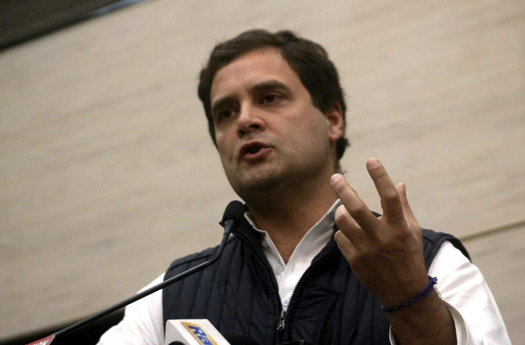 Rahul Gandhi (Photo: IANS)