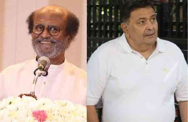 Rajinikanth mourns the demise of Rishi Kapoor