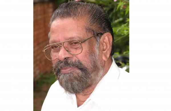 Veteran music director MK Arjunan