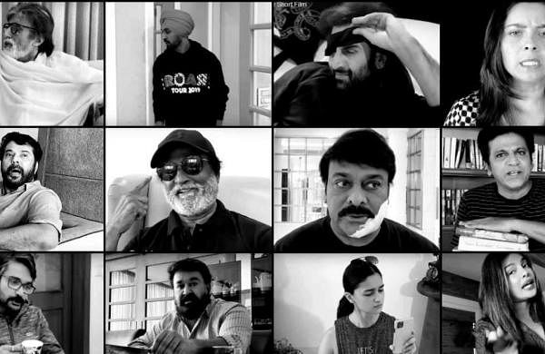 Watch: Big B, Rajinikanth, Mammootty, Priyanka, Alia, among other stars join hands for short film to