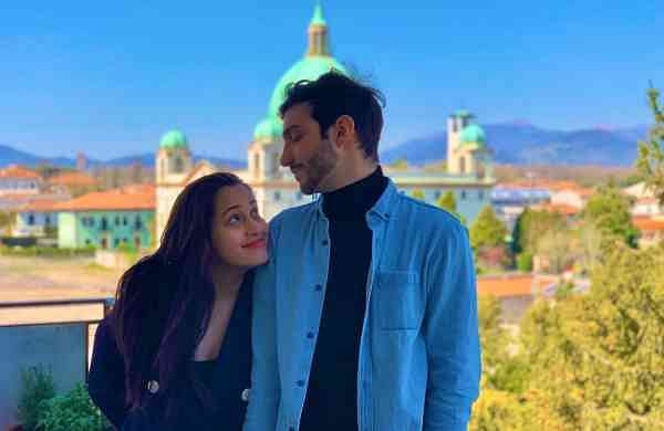 Shweta Pandit and her husband Ivano Fucci