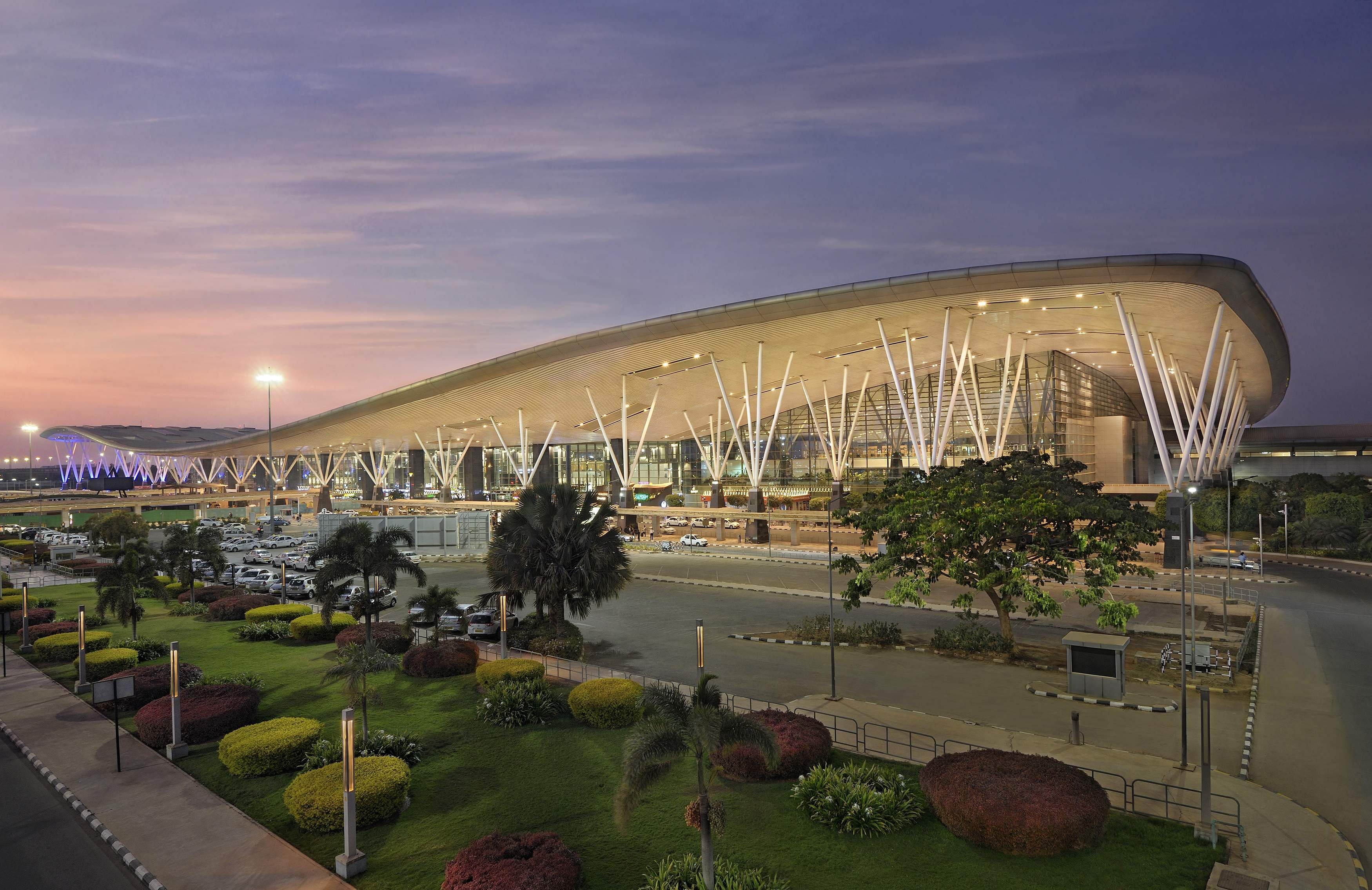 A view of the Kempegowda International Airport terminal