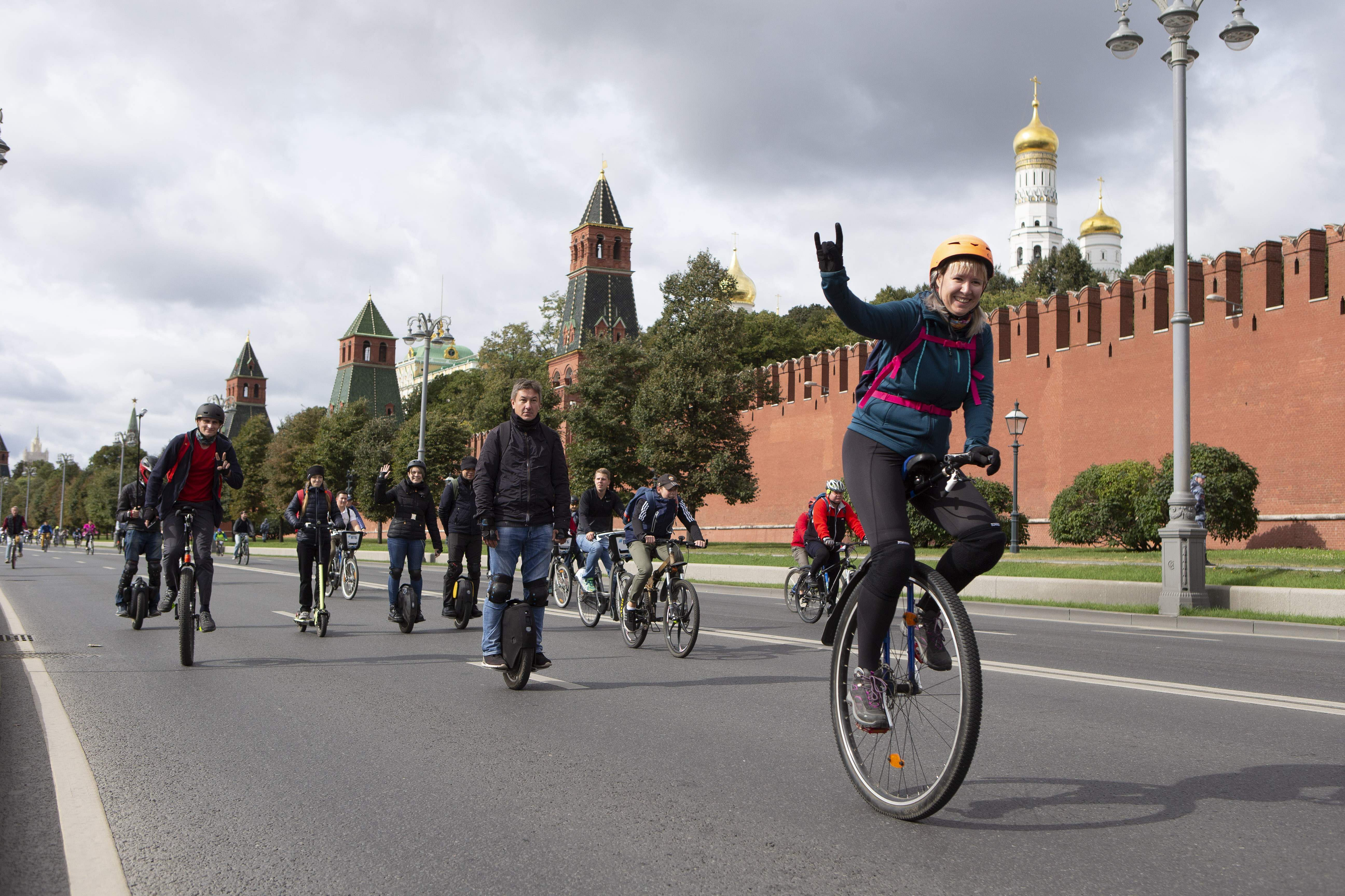 File photo: Cyclothon (Photo by Alexander Zemlianichenko Jr/Xinhua/IANS)