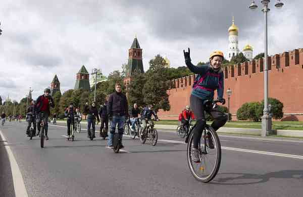 File photo: Cyclothon (Photo by Alexander Zemlianichenko Jr/Xinhua/IANS)