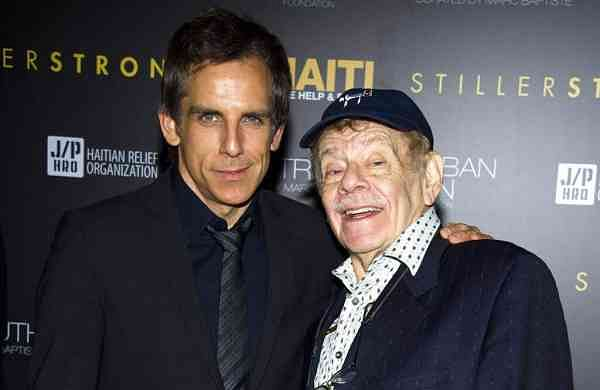 Ben Stiller and his father Jerry Stiller (AP Photo/Charles Sykes, File)