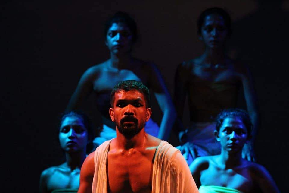 A still from one of the earlier productions by Theatre Nisha