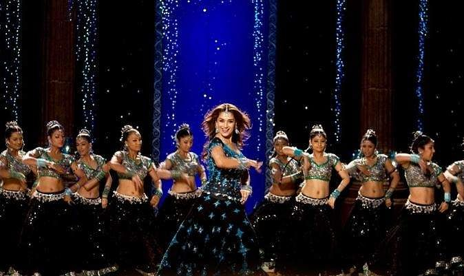 The 2007 drama Aaja Nachle was Madhuri's first film in five years. Often referred to as her comeback film, it failed to score at the box office but explored her dancing chops to the fullest