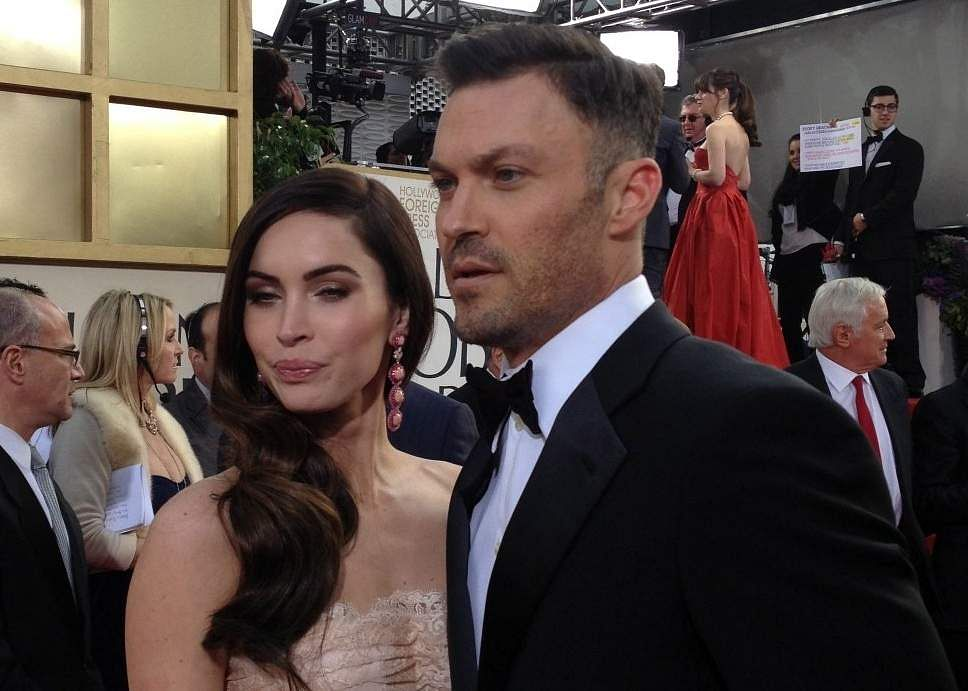 Megan Fox & Brian Austin Green (Pic: Internet/Archives)