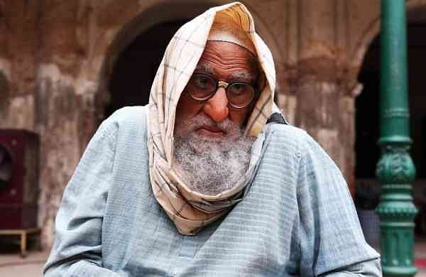 Big B's first look from Gulabo Sitabo (Photo: IANS)