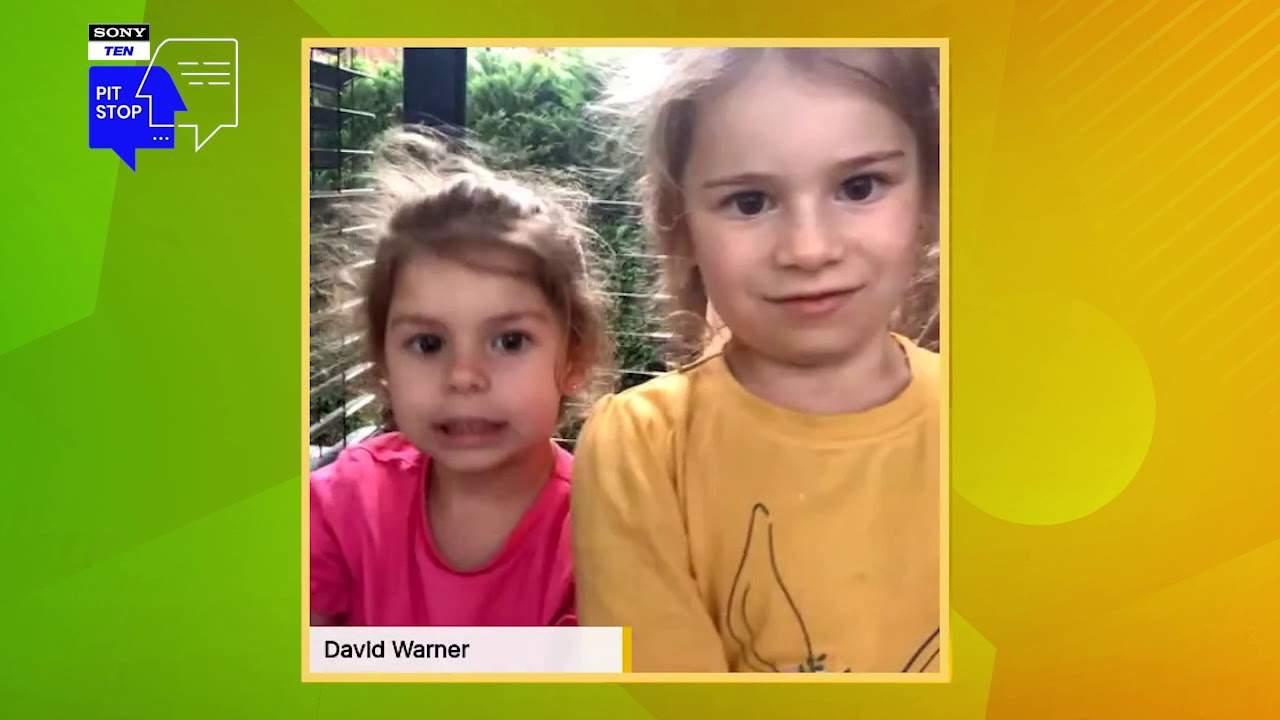 David Warner's daughters