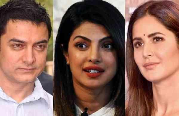 Aamir, Priyanka, Katrina