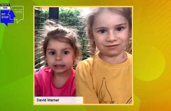 David Warner's daughters