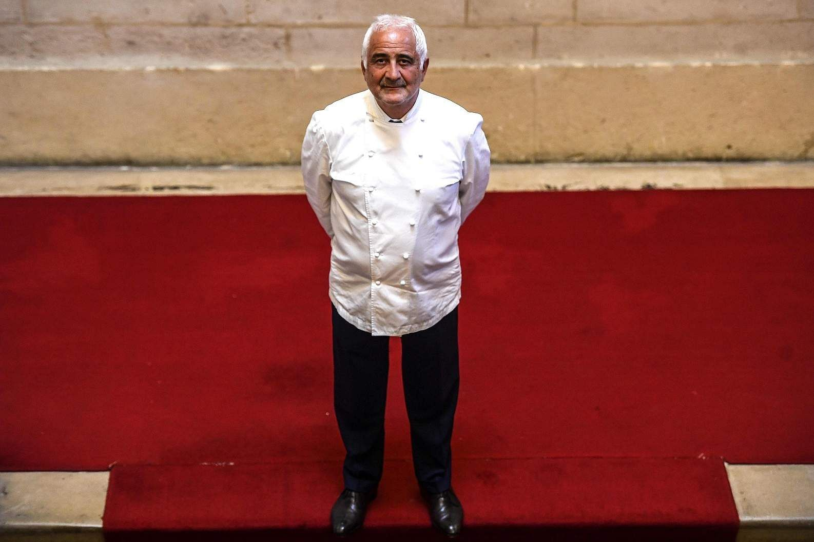 French chef Guy Savoy (AFP/Christophe Archambault)