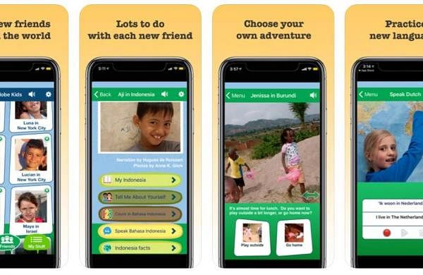A screenshot of the One Globe Kids App
