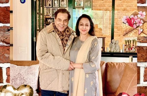 Dharmendra and Hema Malini (Photo: IANS)