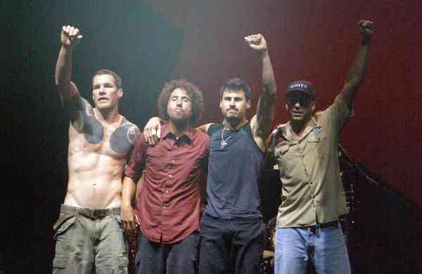 Rage Against The Machine (Photo: Internet/Archives)