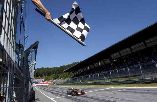 The Red Bull Ring racetrack in Spielberg, Southern Austria (Christian Bruna, Pool via AP, File)