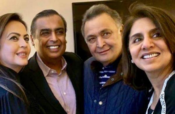 Neetu Kapoor thanks theAmbanis for their support, writes emotional post on Instagram