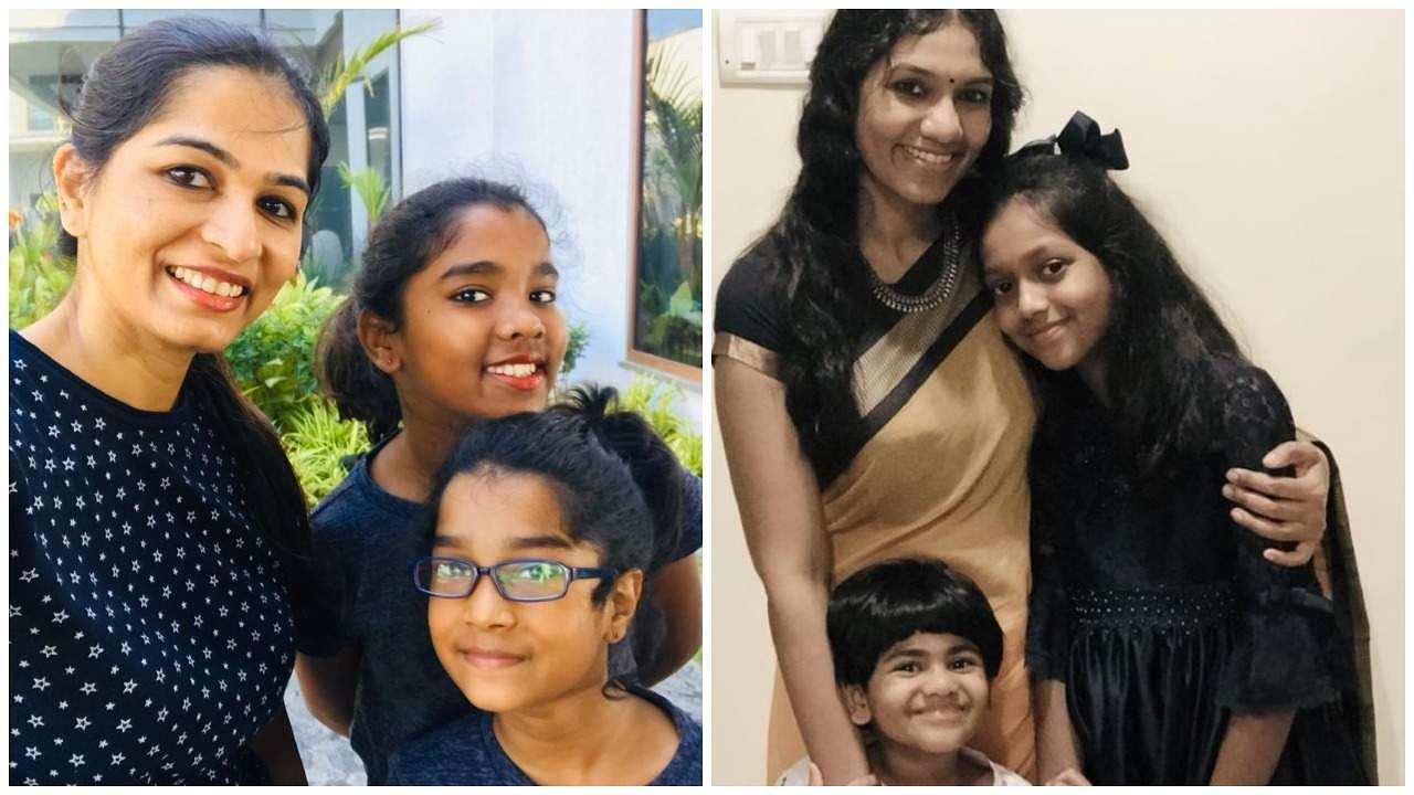 Dr_Aarthi_and_Dr_Divya with their kids