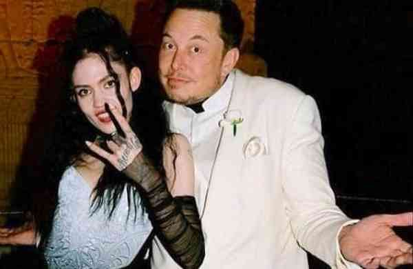 Grimes and Elon Musk (Image: Internet/File/Archives)