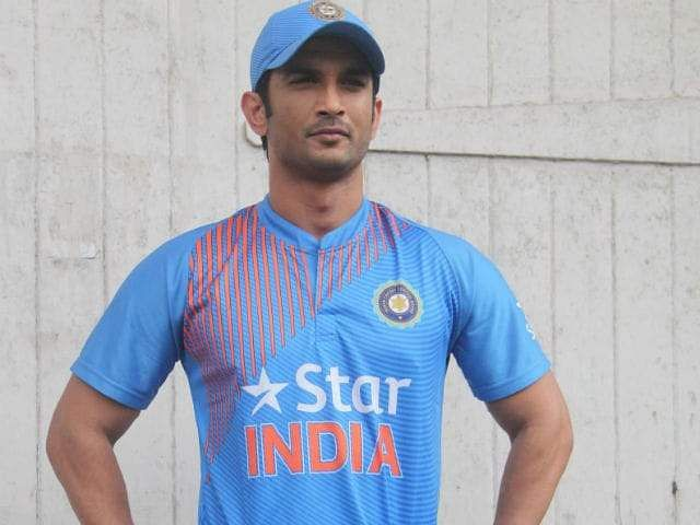 Sushant as MS Dhoni in the film