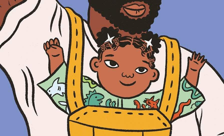 Antiracist Baby by Ibram X Kendi with illustrations by Ashley Lukashevsky (Kokila via AP)