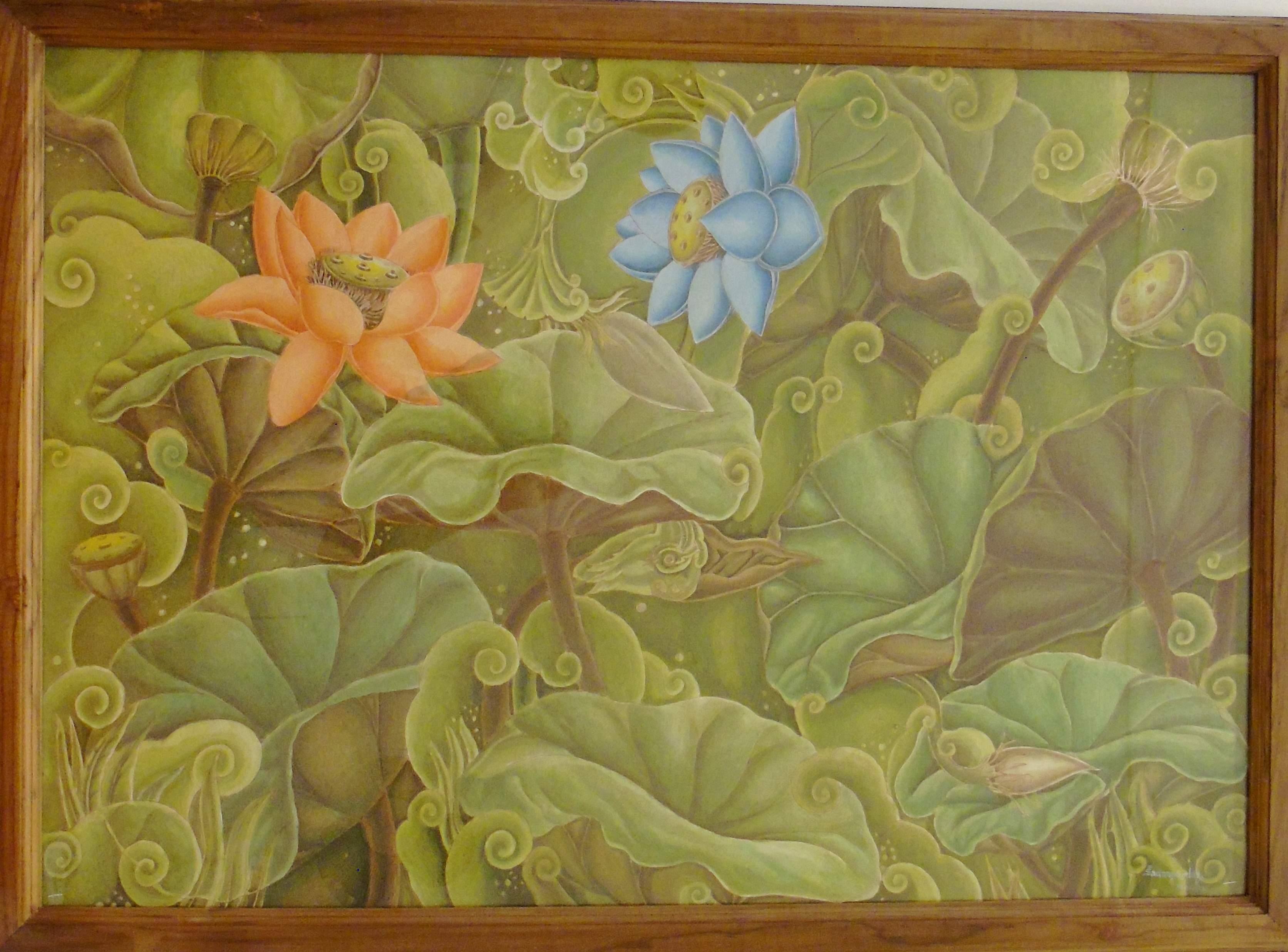 A painting by PK Sadaanandan