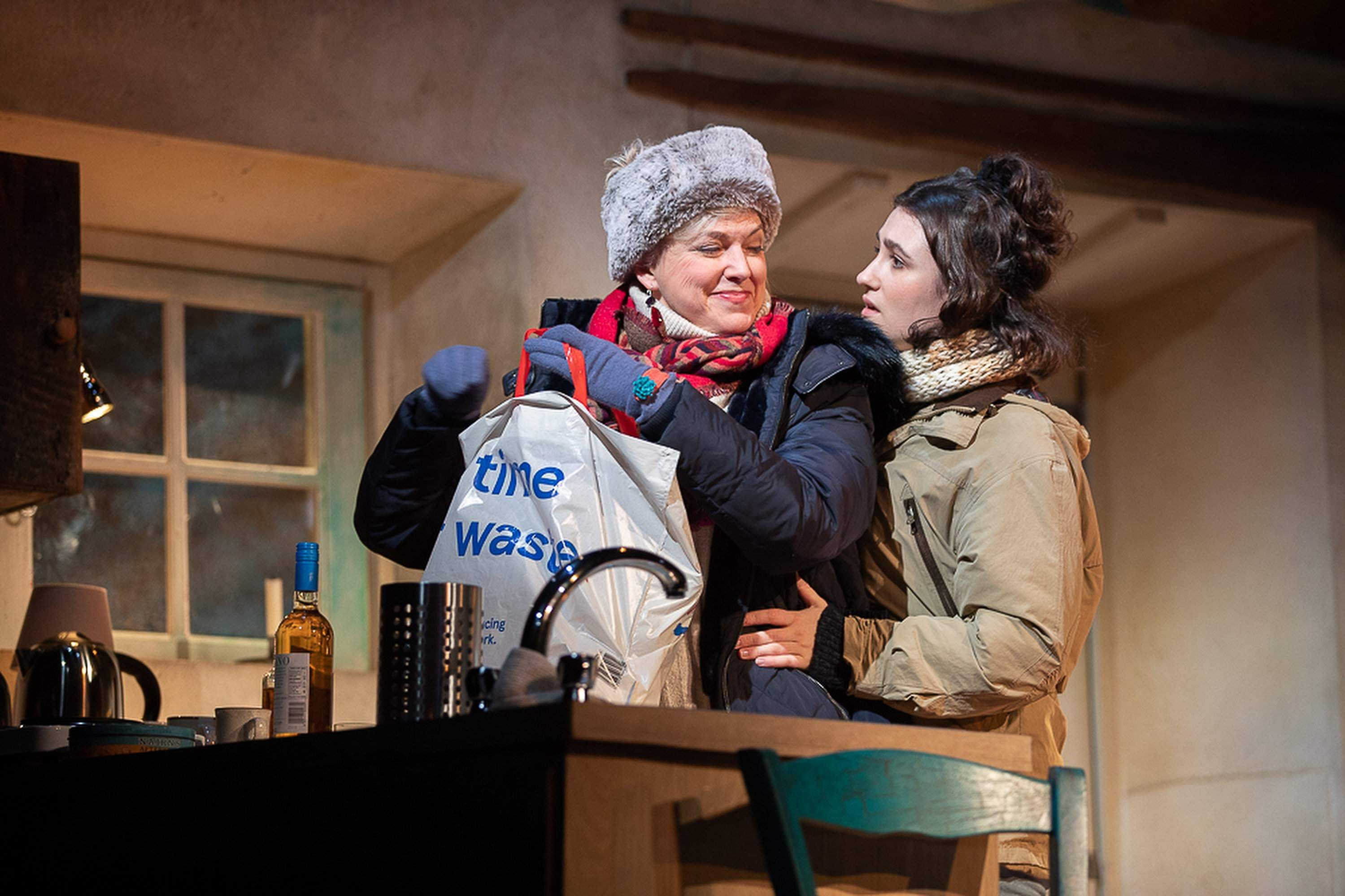 Caroline Harker & Lucy Doyle in The Croft (Pic by Charlotte Graham)