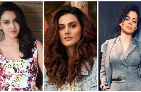 Swara, Tapsee, Kangana
