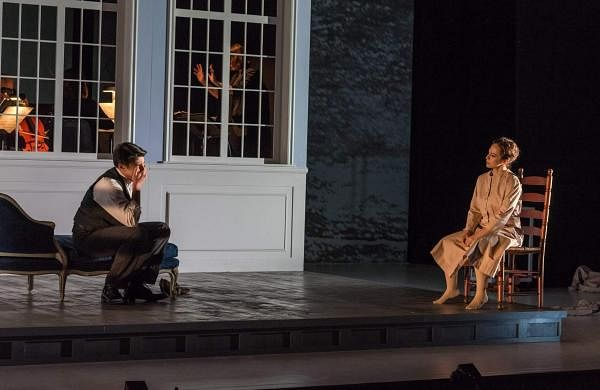 A scene from Ellen West at its world premiere at Opera Saratoga
