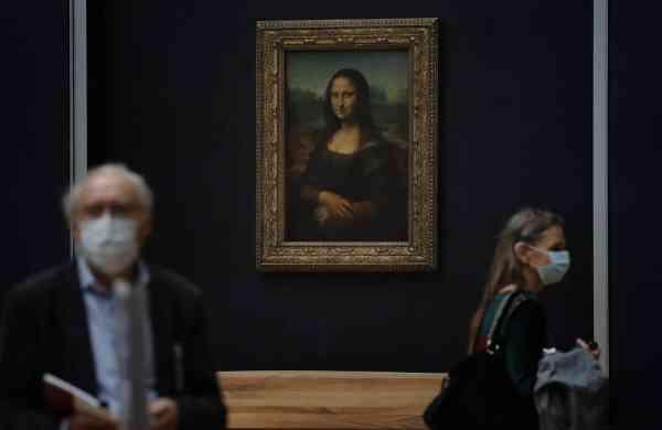 Da Vinci's Mona Lisa (AP Photo/Christophe Ena)