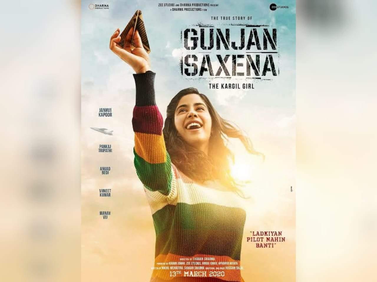 Gunjan Saxena Trailer Janhvi Kapoor Takes The Lead In This Awe Inspiring Tale