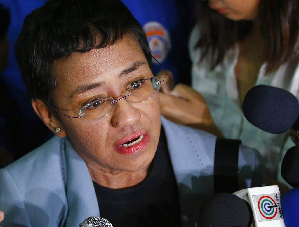 Maria Ressa (AP Photo/Bullit Marquez, File)