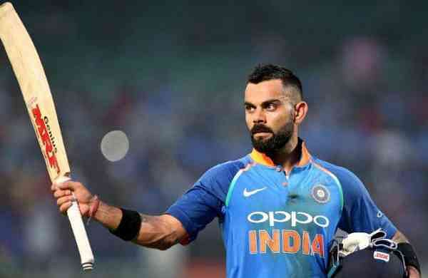 Indian Cricket captain Virat Kohli
