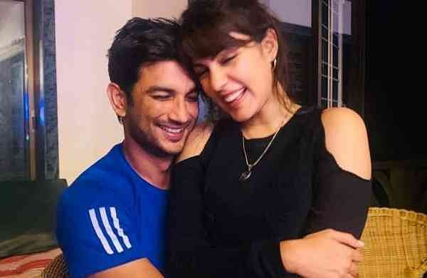 Sushant and Rhea (IANS)