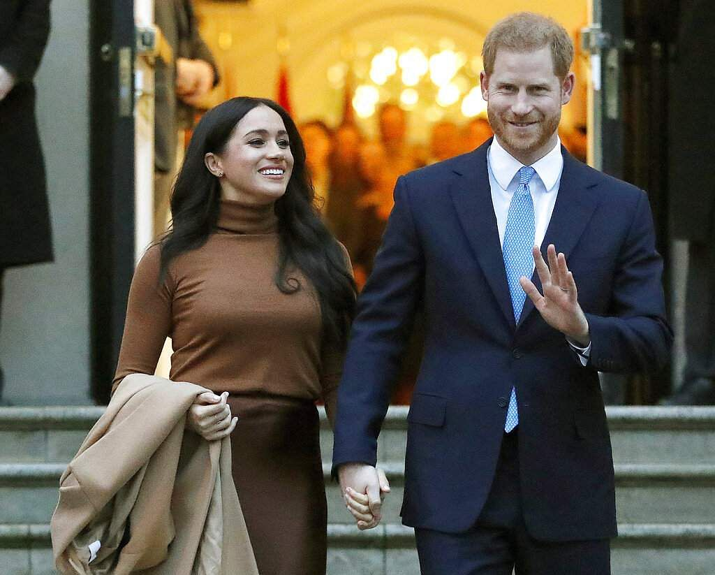 Harry and Meghan (AP Photo/Frank Augstein, File)