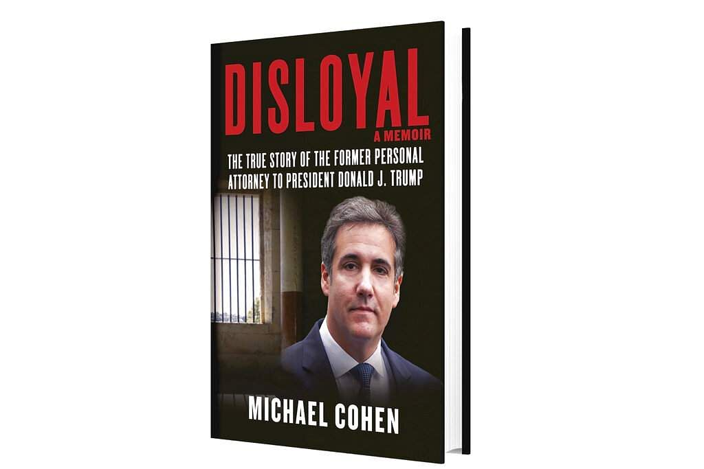 Michael Cohen's  Disloyal (Courtesy of Skyhorse Publishing via AP)
