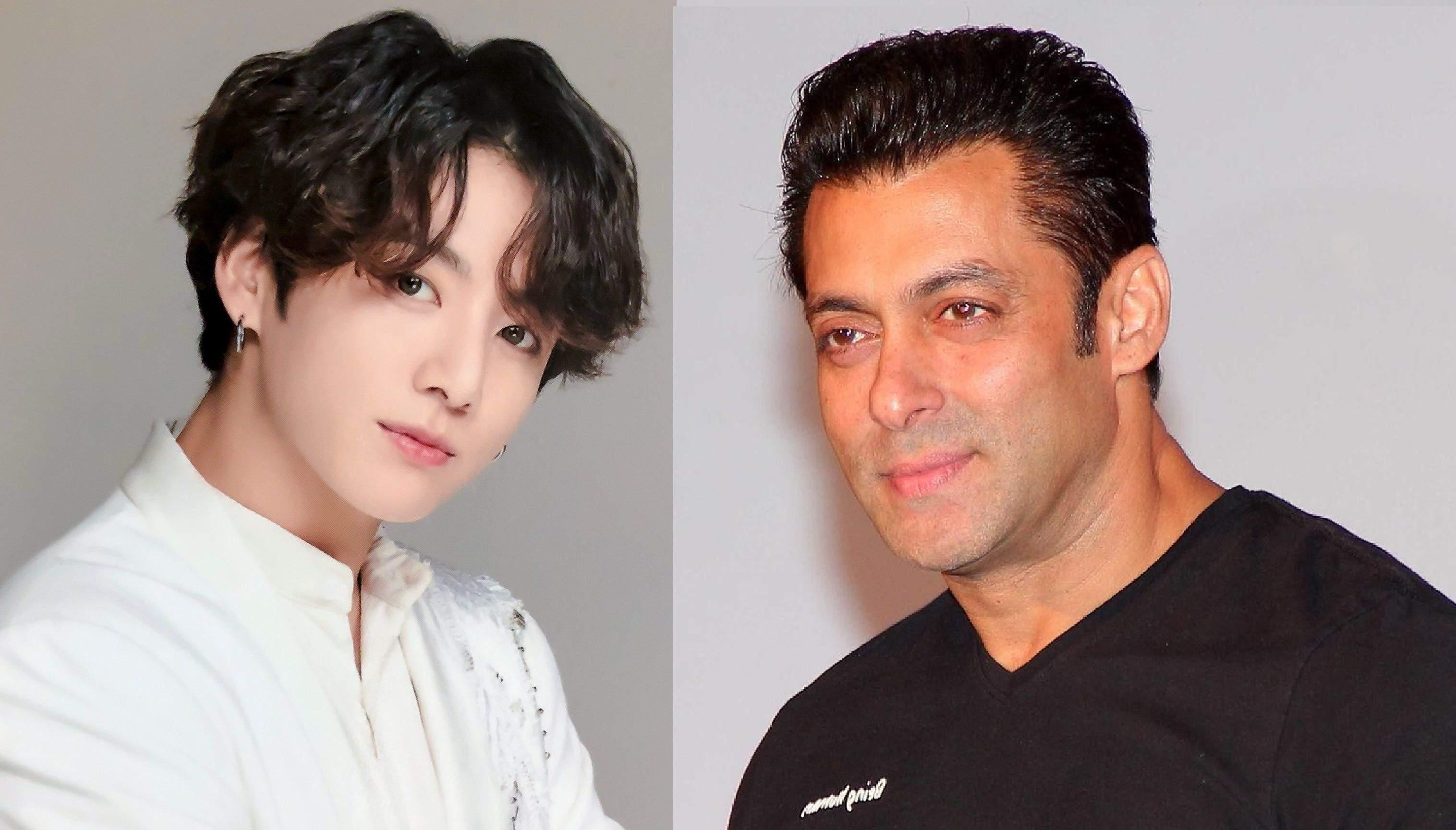 Jungkook and Salman Khan
