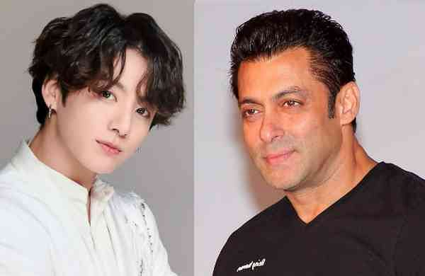 Jungkook and Salman Khan