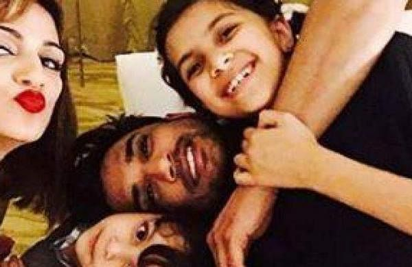 Sushant with his sister Shweta