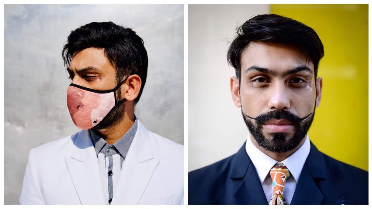 Vitiligo Masks by Saran Kohli