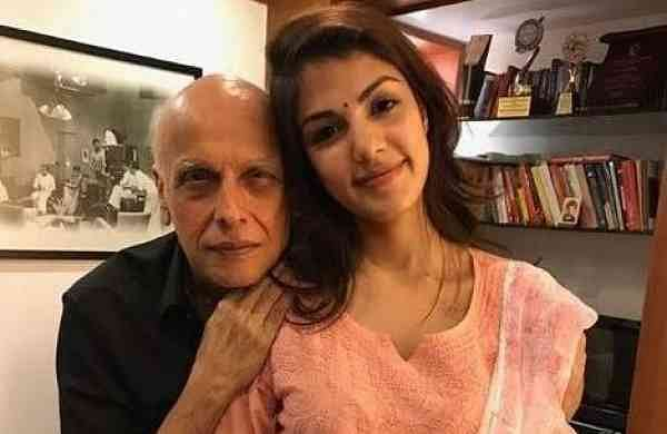 Mahesh Bhatt & Rhea (IANS)