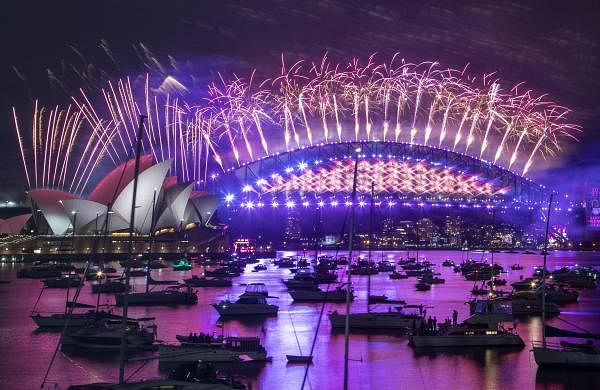 New Year Celebrations in Sydney, Australia AP21001094458763