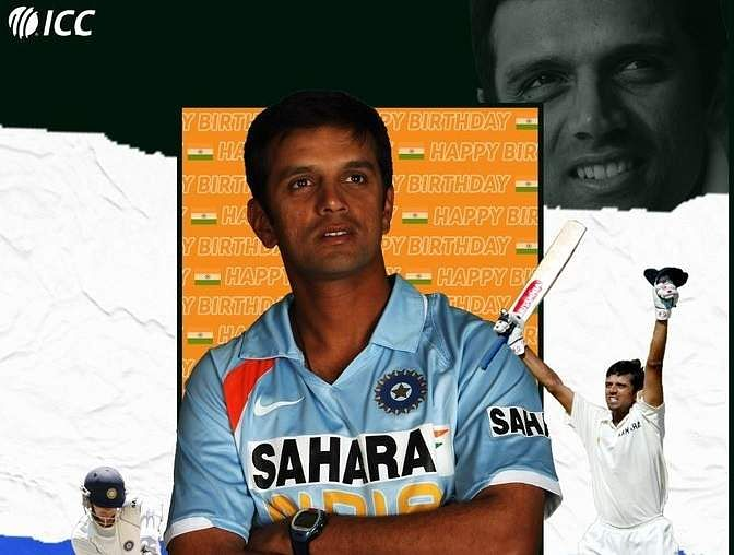 Happy birthday, Rahul Dravid! Wishes pour in for 'The Wall' who turns 48
