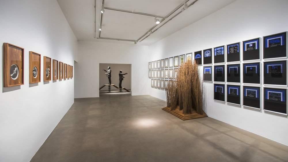 Chameli Ramachandran's solo exhibition