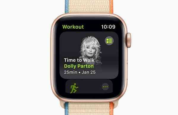Apple adds a new feature 'Time to Walk' onFitness+