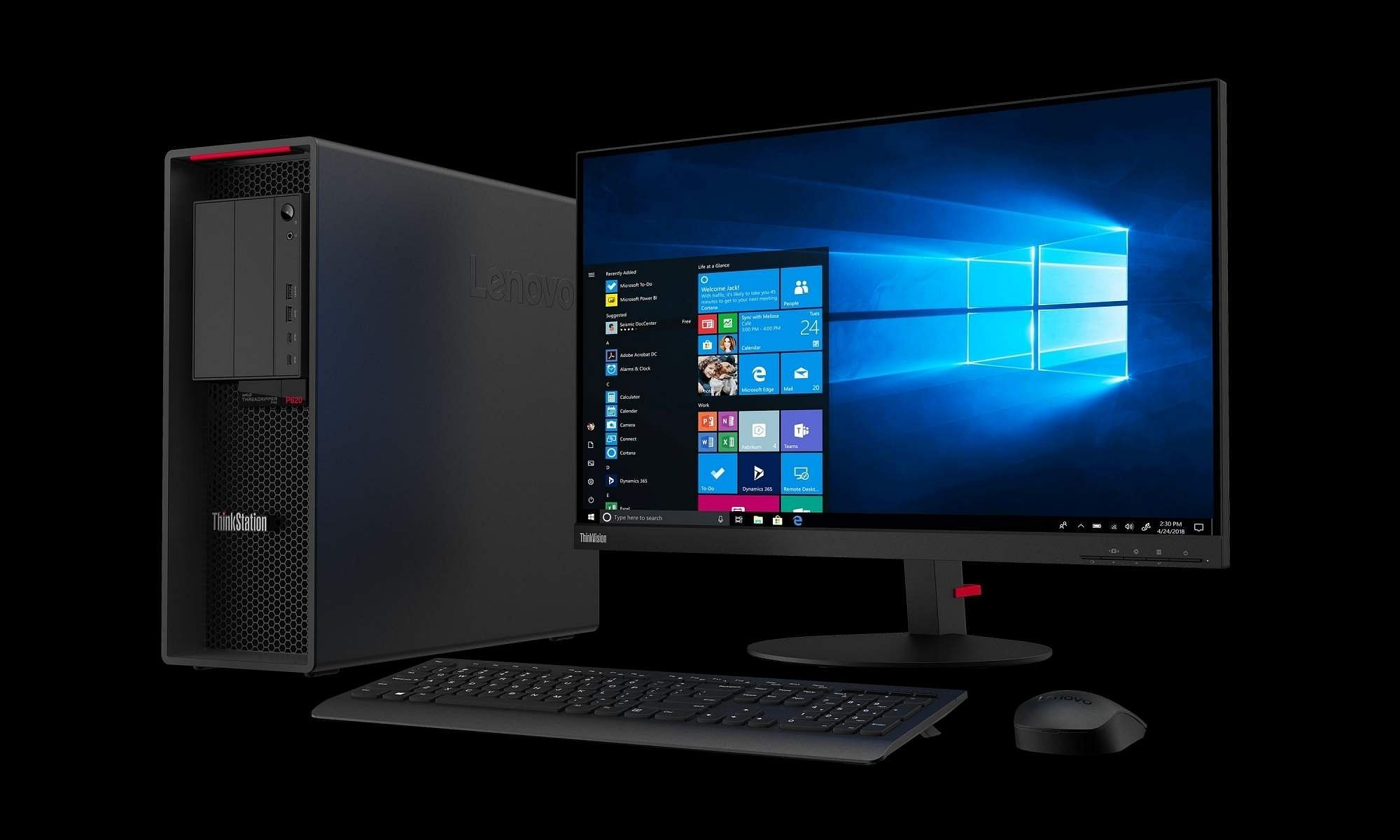 Lenovo launches ThinkStation P620, an enterprise-grade workstation computer in India