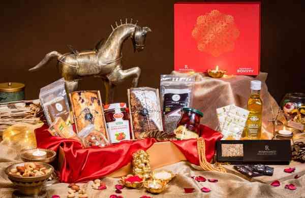 Gift hamper by Renaissance Bengaluru Race Course Hotel