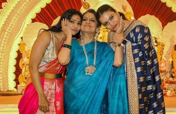 Tanishaa, Tanuja and Kajol